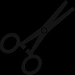 Czarne nożyczki